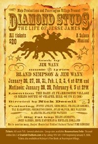 Diamond Studs: The Life of Jesse James, A Saloon Musical