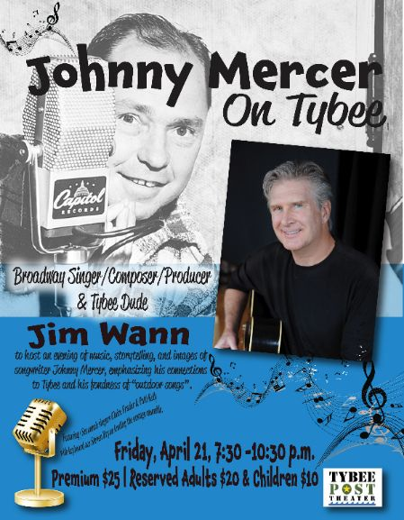 Johnny Mercer on Tybee - Jim Wann
